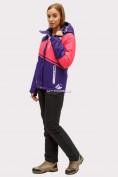 Оптом Костюм горнолыжный женский темно-фиолетового цвета 01811TF в Казани, фото 2
