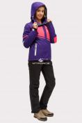 Оптом Костюм горнолыжный женский темно-фиолетового цвета 01811TF в Казани, фото 4