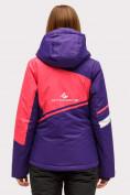Оптом Куртка горнолыжная женская темно-фиолетового цвета 1811TF в Екатеринбурге, фото 4