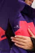 Оптом Куртка горнолыжная женская темно-фиолетового цвета 1811TF в Екатеринбурге, фото 6