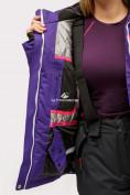 Оптом Куртка горнолыжная женская темно-фиолетового цвета 1811TF в Екатеринбурге, фото 8