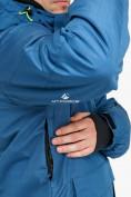 Оптом Куртка горнолыжная мужская голубого цвета 18122Gl в Нижнем Новгороде, фото 5