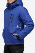 Оптом Костюм горнолыжный мужской синего цвета 018122S в Екатеринбурге, фото 3