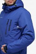 Оптом Куртка горнолыжная мужская синего цвета 18122S в Нижнем Новгороде, фото 5