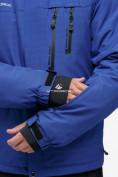 Оптом Куртка горнолыжная мужская синего цвета 18122S в Нижнем Новгороде, фото 8
