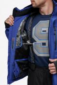 Оптом Куртка горнолыжная мужская синего цвета 18122S в Нижнем Новгороде, фото 9
