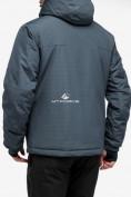 Оптом Куртка горнолыжная мужская темно-серого цвета 18122TC в Казани, фото 3
