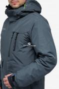 Оптом Куртка горнолыжная мужская темно-серого цвета 18122TC в Казани, фото 6