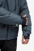 Оптом Куртка горнолыжная мужская темно-серого цвета 18122TC в Казани, фото 7