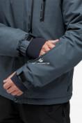 Оптом Куртка горнолыжная мужская темно-серого цвета 18122TC в Казани, фото 8