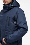 Оптом Костюм горнолыжный мужской темно-синего цвета 018122TS в Казани, фото 7