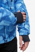 Оптом Костюм горнолыжный мужской синего цвета 018122-1S в Екатеринбурге, фото 7
