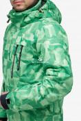 Оптом Костюм горнолыжный мужской зеленого цвета 018122-1Z в Казани, фото 9