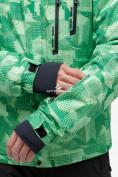 Оптом Костюм горнолыжный мужской зеленого цвета 018122-1Z в Казани, фото 7