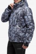 Оптом Куртка горнолыжная мужская серого цвета 18122-1Sr в Казани, фото 3