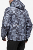 Оптом Куртка горнолыжная мужская серого цвета 18122-1Sr в Казани, фото 2