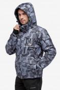 Оптом Куртка горнолыжная мужская серого цвета 18122-1Sr в  Красноярске, фото 5