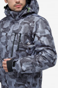 Оптом Куртка горнолыжная мужская серого цвета 18122-1Sr в Казани, фото 6