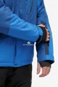 Оптом Костюм горнолыжный мужской синего цвета 018123S в Нижнем Новгороде, фото 8