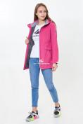 Оптом Ветровка softshell женская розового цвета 18125-1R в Казани, фото 3