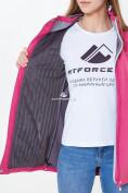 Оптом Ветровка softshell женская розового цвета 18125-1R в Казани, фото 7
