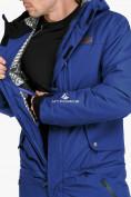 Оптом Комбинезон горнолыжный мужской синего цвета 18126S в Казани, фото 7