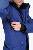 Оптом Комбинезон горнолыжный мужской синего цвета 18126S в Казани, фото 8
