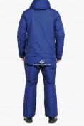 Оптом Комбинезон горнолыжный мужской синего цвета 18126S в Казани, фото 4