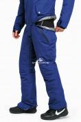 Оптом Комбинезон горнолыжный мужской синего цвета 18126S в Казани, фото 6