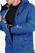 Оптом Комбинезон горнолыжный мужской голубого цвета 18126Gl в  Красноярске, фото 8