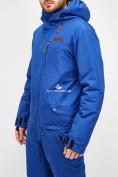 Оптом Комбинезон горнолыжный мужской голубого цвета 18126Gl в  Красноярске, фото 6