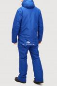 Оптом Комбинезон горнолыжный мужской голубого цвета 18126Gl в  Красноярске, фото 3