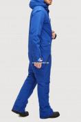 Оптом Комбинезон горнолыжный мужской голубого цвета 18126Gl в  Красноярске, фото 2
