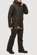 Оптом Комбинезон горнолыжный мужской черного цвета 18126Ch, фото 3