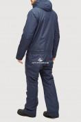 Оптом Комбинезон горнолыжный мужской темно-синего цвета 18126TS в  Красноярске, фото 6
