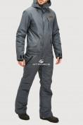 Оптом Комбинезон горнолыжный мужской темно-серого цвета 18126TC в Екатеринбурге, фото 2