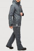 Оптом Комбинезон горнолыжный мужской темно-серого цвета 18126TC в Екатеринбурге, фото 3