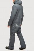 Оптом Комбинезон горнолыжный мужской темно-серого цвета 18126TC в Екатеринбурге, фото 4