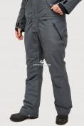 Оптом Комбинезон горнолыжный мужской темно-серого цвета 18126TC в Екатеринбурге, фото 6