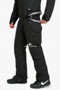 Оптом Комбинезон горнолыжный мужской черного цвета 18126Ch, фото 5