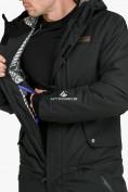 Оптом Комбинезон горнолыжный мужской черного цвета 18126Ch, фото 7