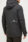 Оптом Мужской зимний горнолыжный костюм черного цвета 018128Ch, фото 4