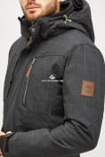 Оптом Мужской зимний горнолыжный костюм черного цвета 018128Ch, фото 5