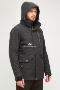 Оптом Мужской зимний горнолыжный костюм черного цвета 018128Ch, фото 7