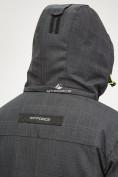 Оптом Мужской зимний горнолыжный костюм черного цвета 018128Ch, фото 9