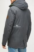 Оптом Мужская зимняя горнолыжная куртка серого цвета 18128Sr в  Красноярске, фото 4