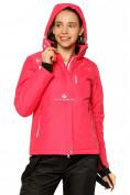 Оптом Куртка горнолыжная женская розового цвета 1812R в Екатеринбурге, фото 4