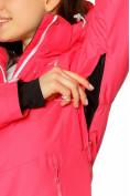 Оптом Куртка горнолыжная женская розового цвета 1812R в Екатеринбурге, фото 5