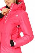 Оптом Куртка горнолыжная женская розового цвета 1812R в Екатеринбурге, фото 6