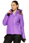 Оптом Куртка горнолыжная женская фиолетового цвета 1812F в Екатеринбурге, фото 2
